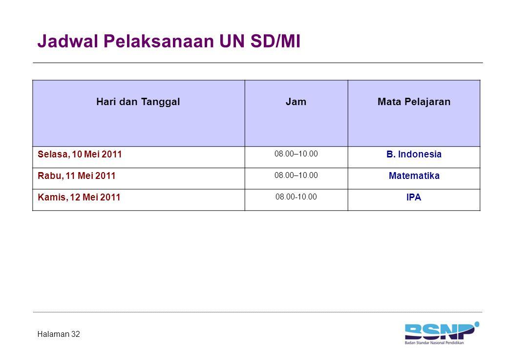 Jadwal Pelaksanaan UN Susulan SMA/MA