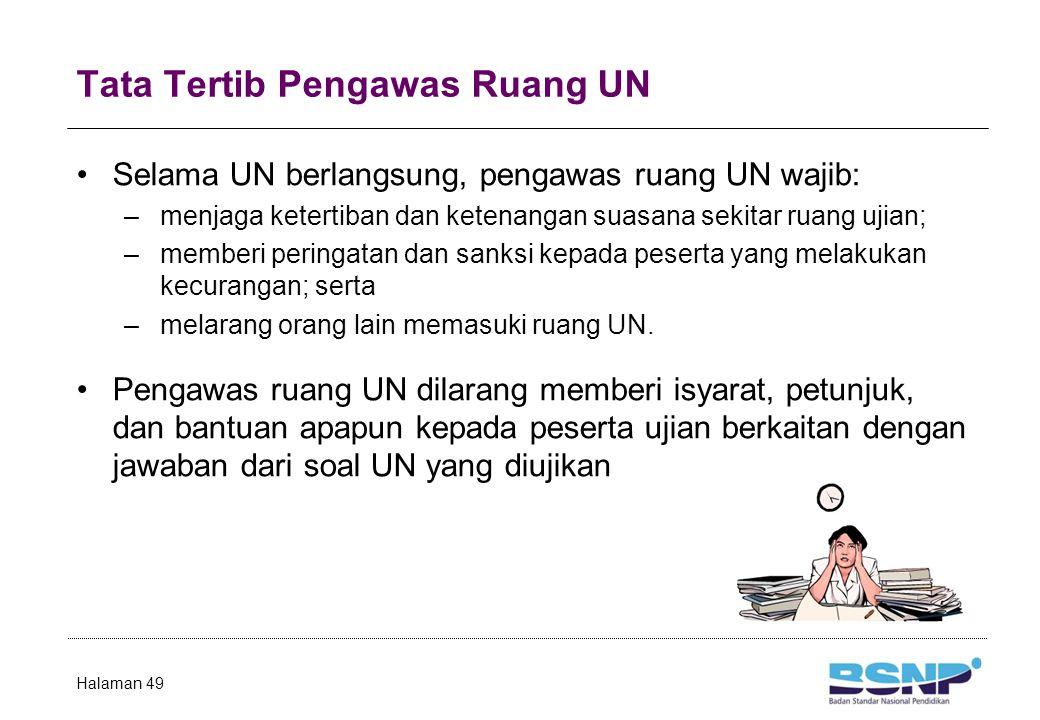 Tugas Pengawas Ruang UN (1)