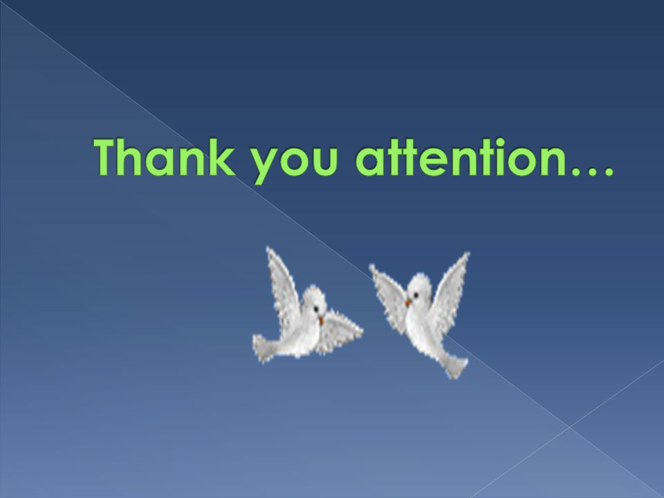 Thank you attention…