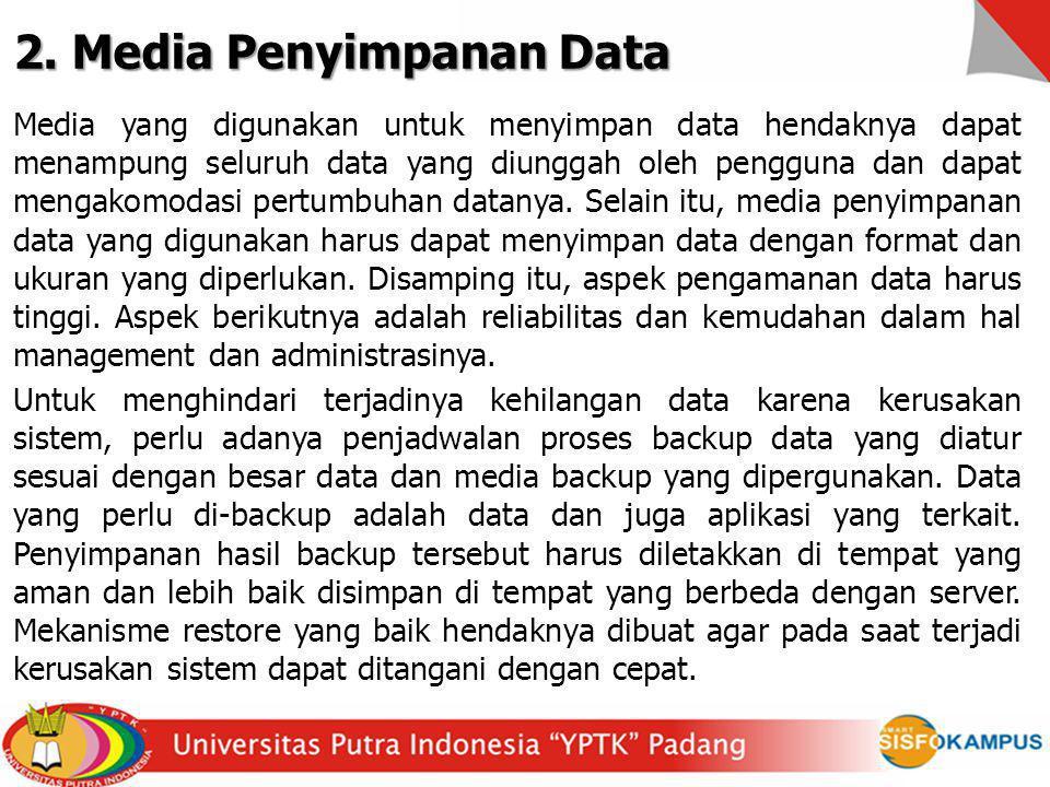 2. Media Penyimpanan Data