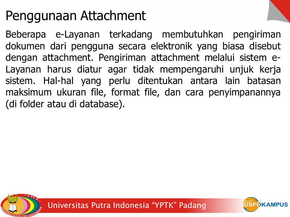 Penggunaan Attachment