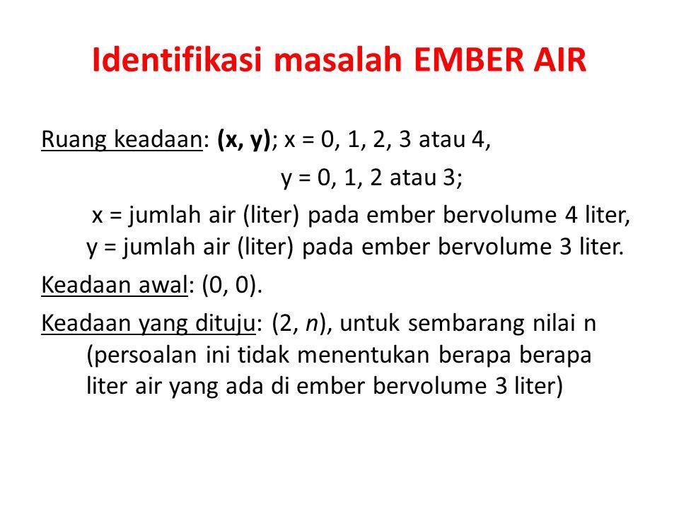 Identifikasi masalah EMBER AIR