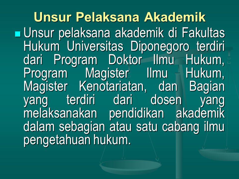 Unsur Pelaksana Akademik