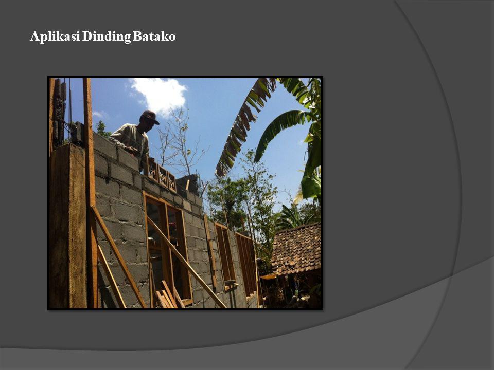 Aplikasi Dinding Batako