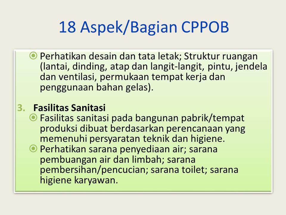 18 Aspek/Bagian CPPOB