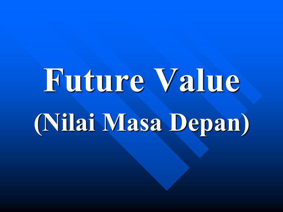 Future Value (Nilai Masa Depan)