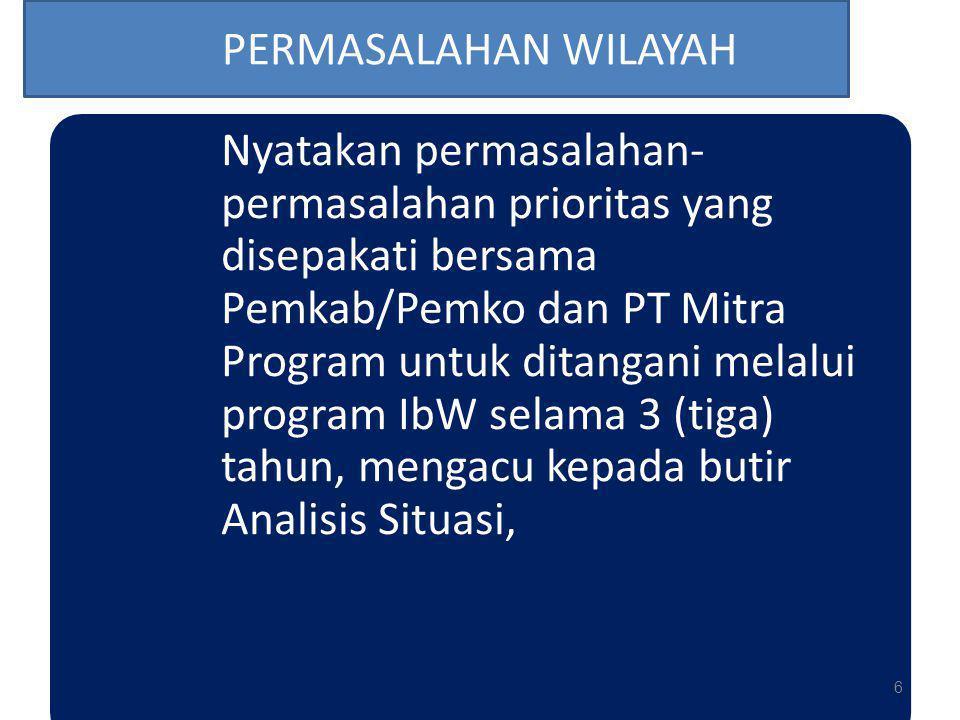 PERMASALAHAN WILAYAH