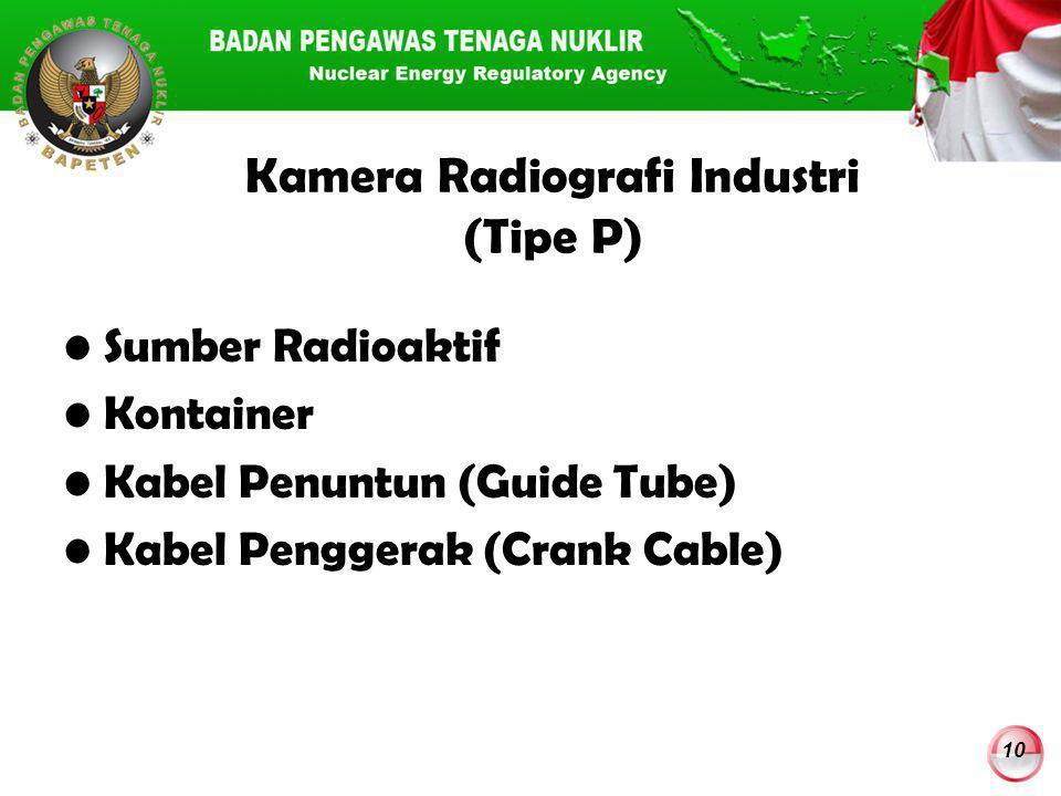 Kamera Radiografi Industri (Tipe P)