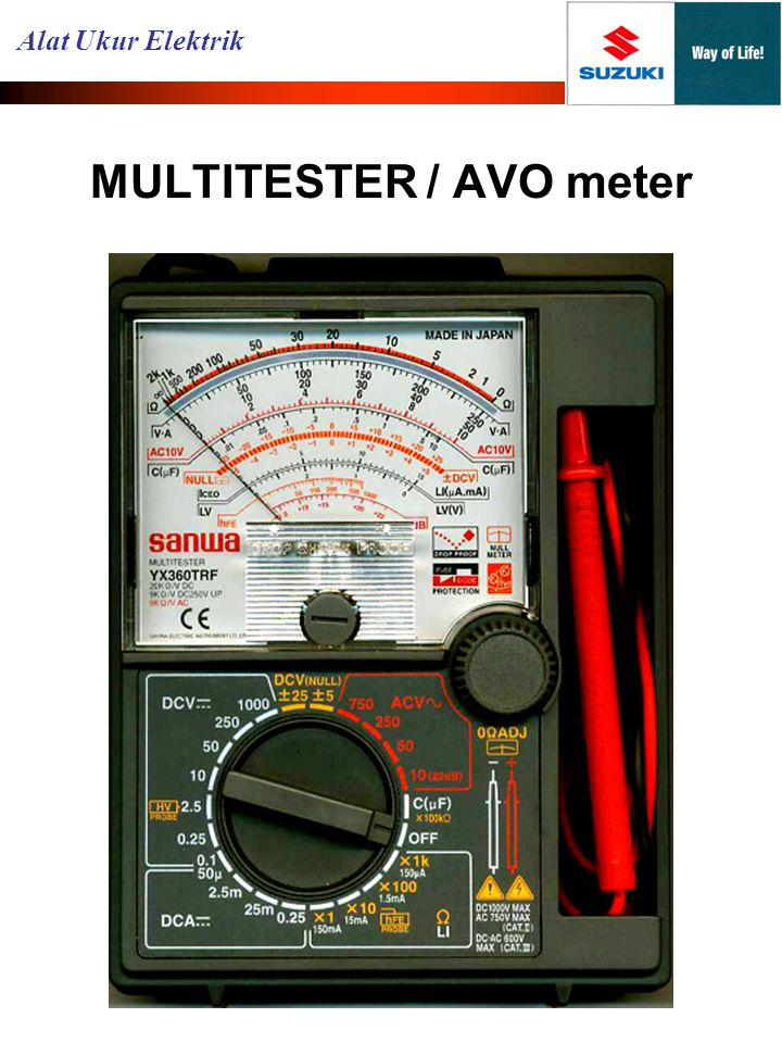 MULTITESTER / AVO meter