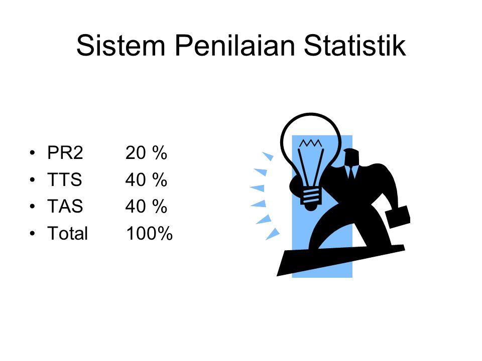 Sistem Penilaian Statistik