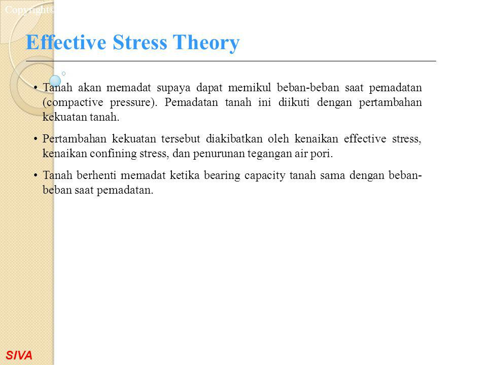 Effective Stress Theory