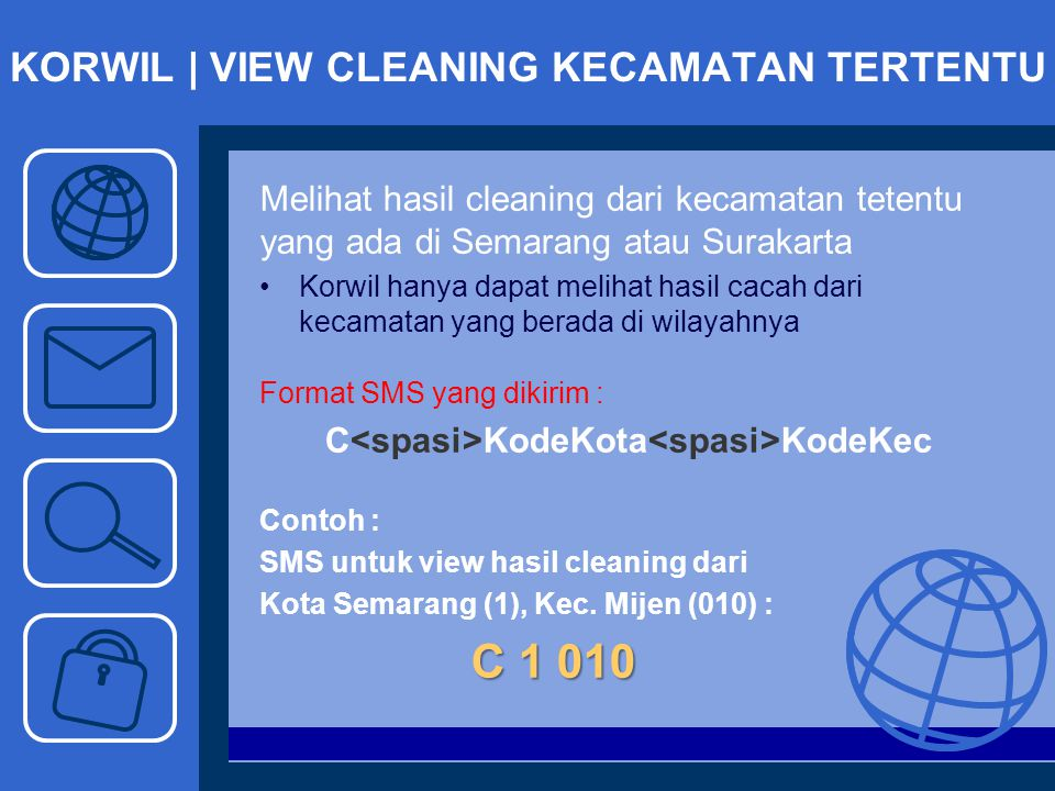 KORWIL | VIEW CLEANING KECAMATAN TERTENTU