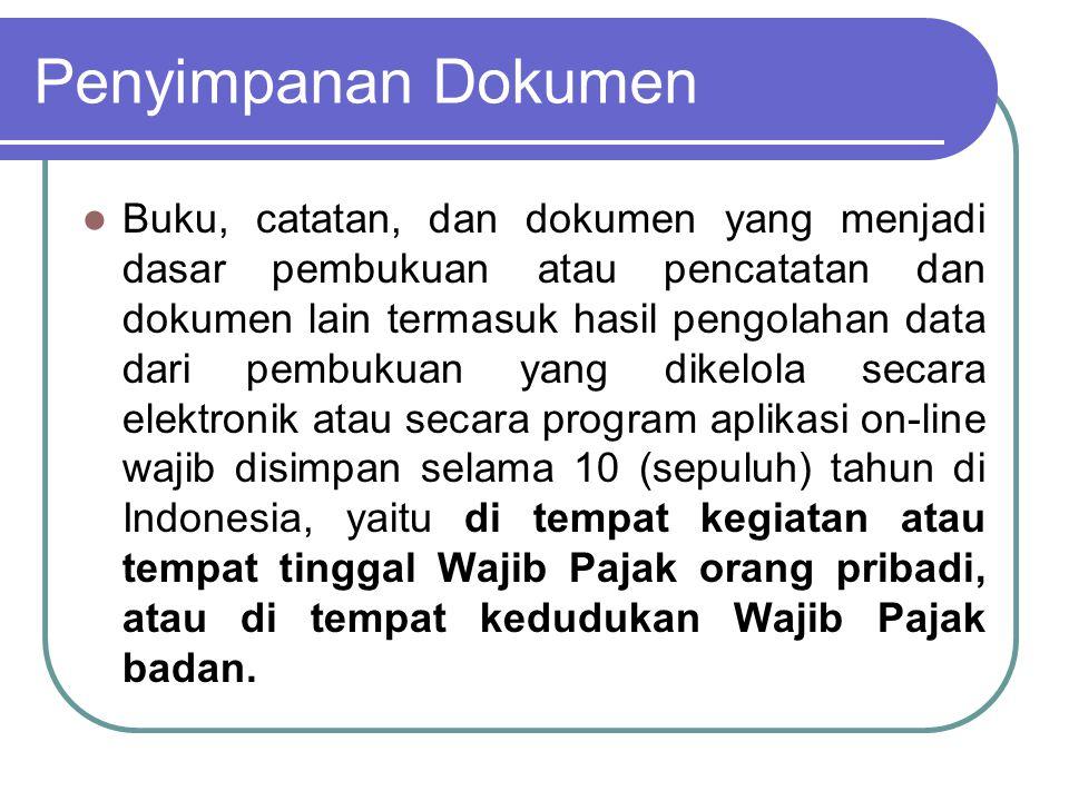 Penyimpanan Dokumen