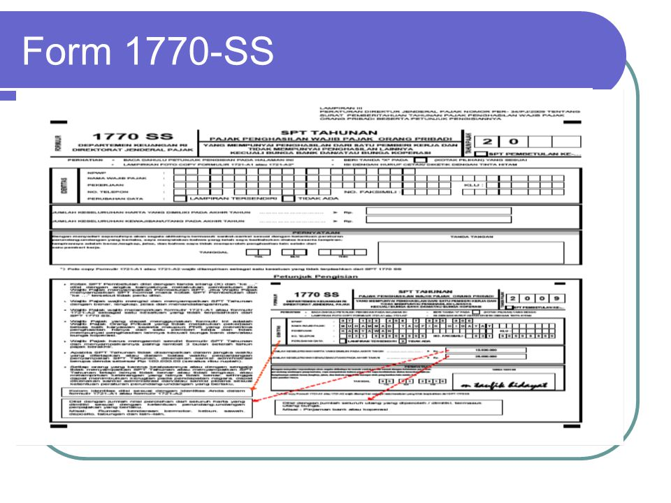 Form 1770-SS