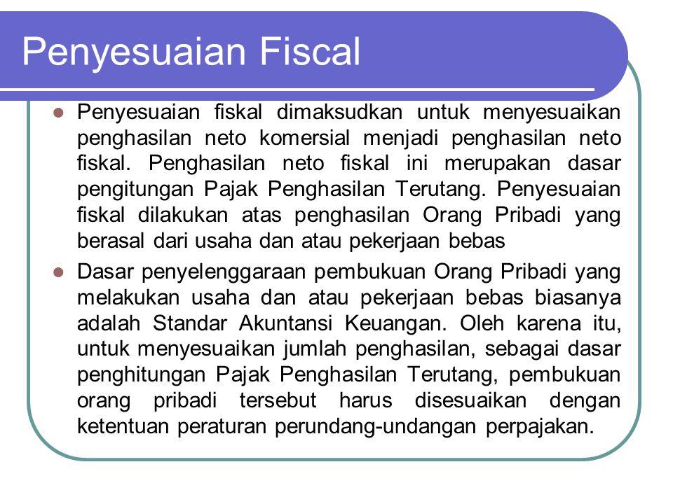 Penyesuaian Fiscal