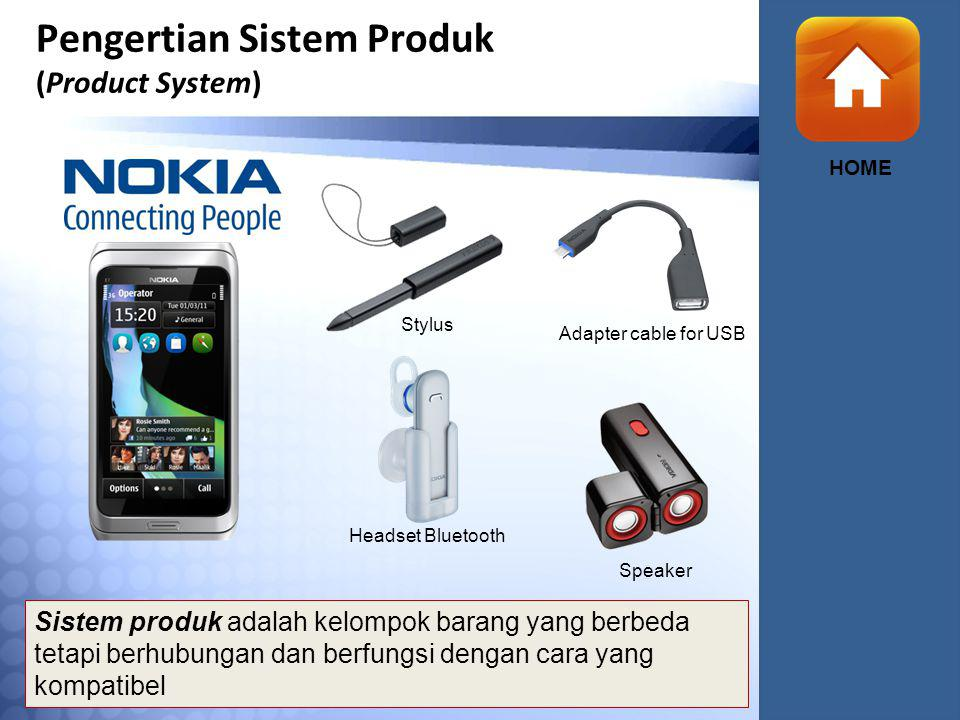 Pengertian Sistem Produk (Product System)