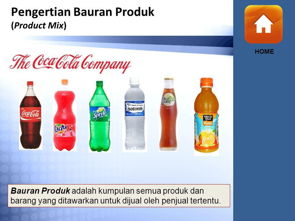 Pengertian Bauran Produk (Product Mix)