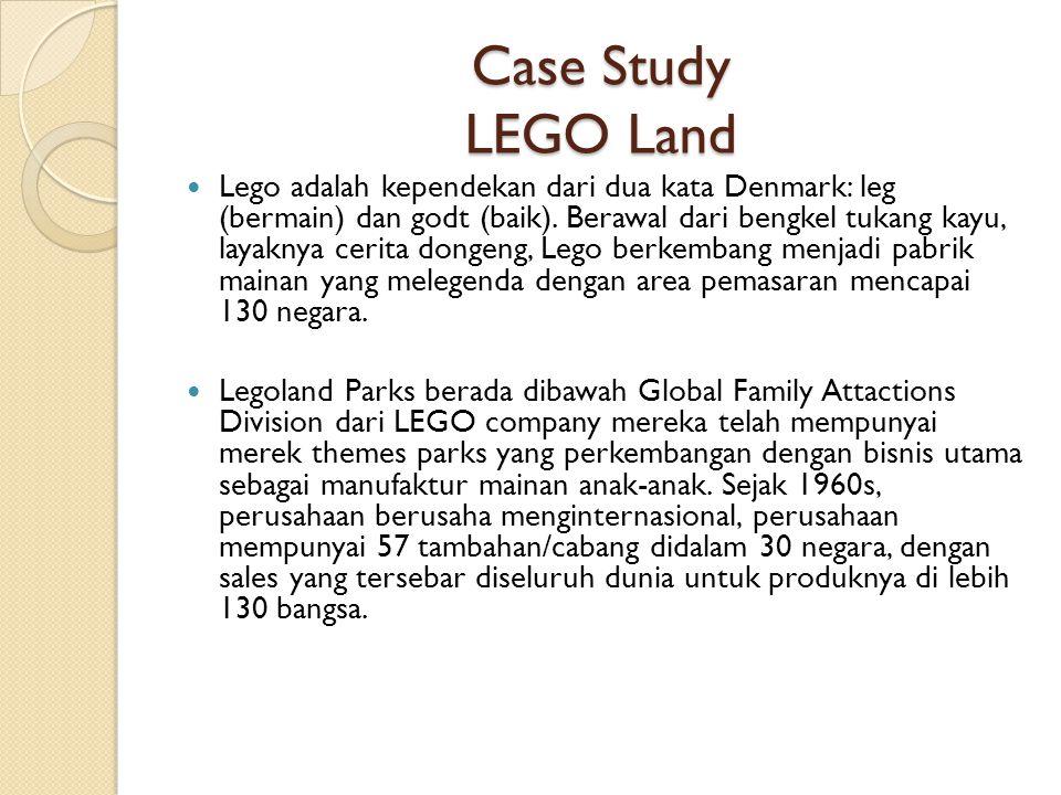Case Study LEGO Land
