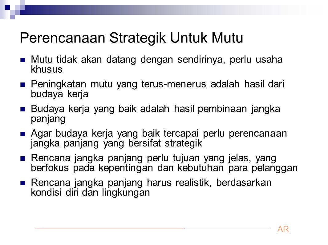 Perencanaan Strategik Untuk Mutu
