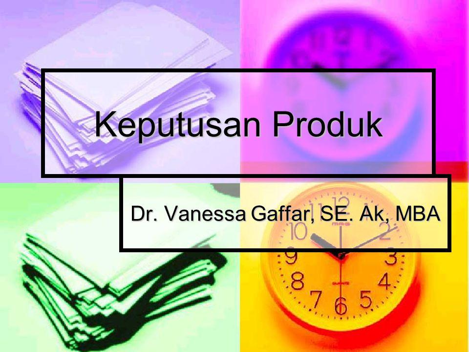 Dr. Vanessa Gaffar, SE. Ak, MBA