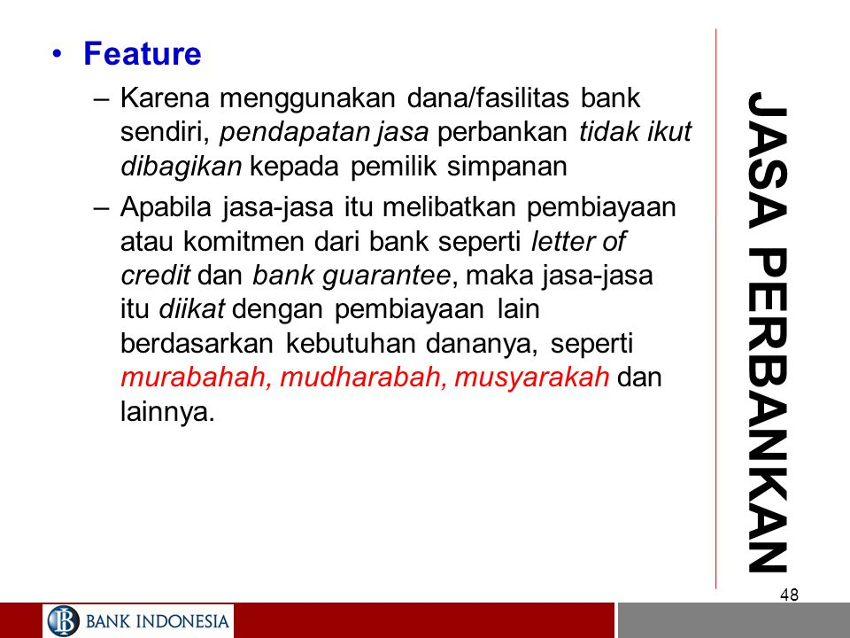 JASA PERBANKAN Feature
