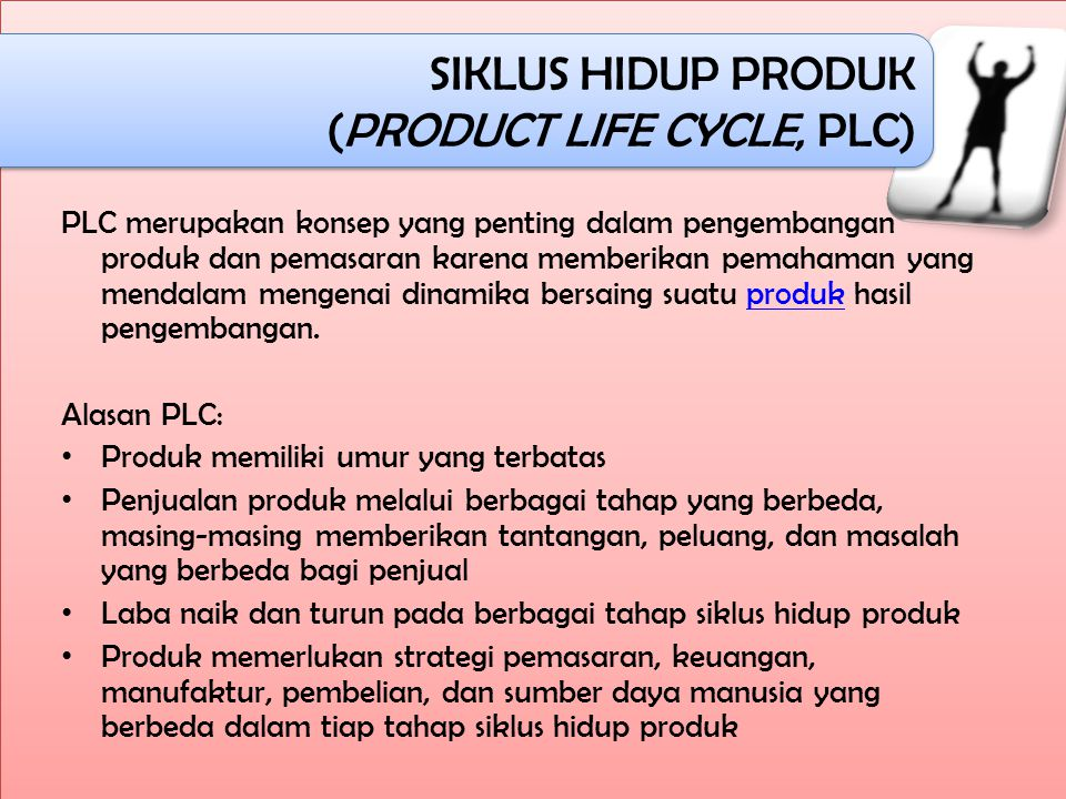 (PRODUCT LIFE CYCLE, PLC)