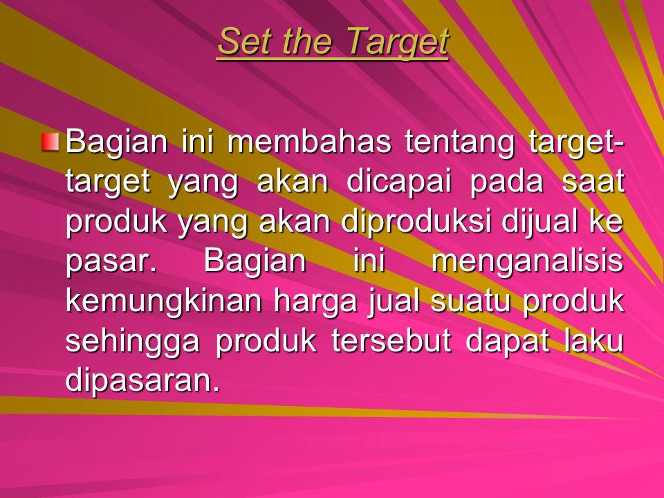 Set the Target