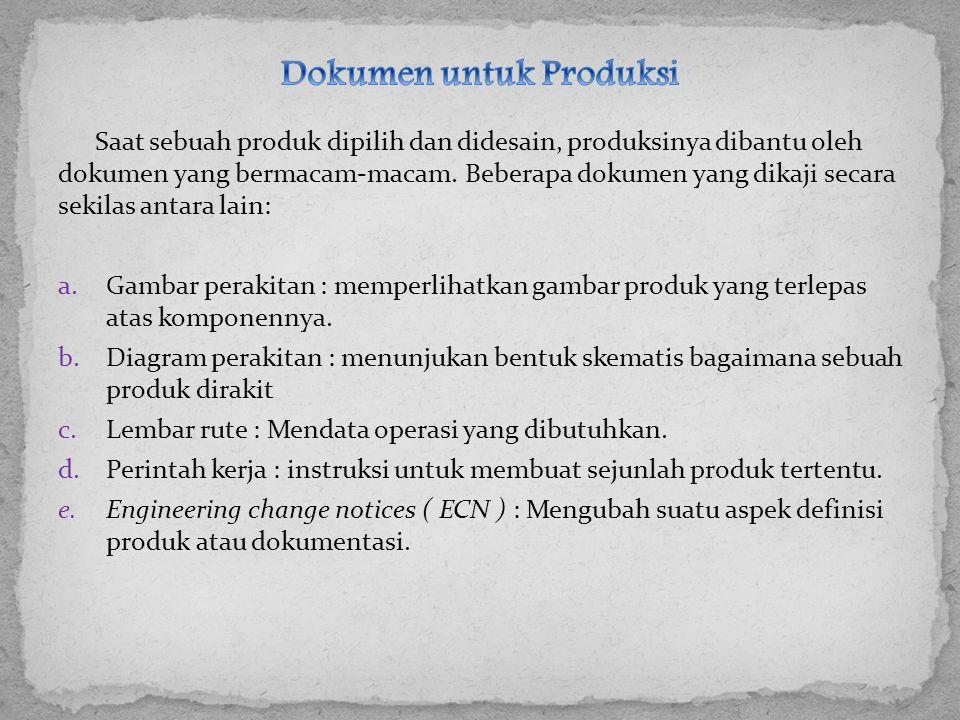 Dokumen untuk Produksi
