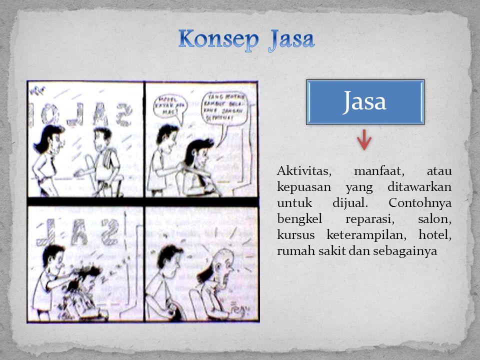 Konsep Jasa Jasa.