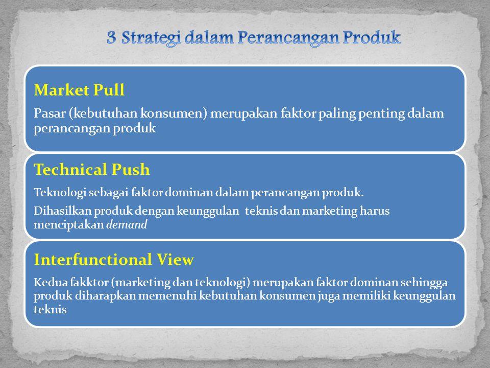 3 Strategi dalam Perancangan Produk