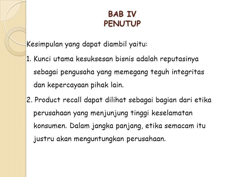 BAB IV PENUTUP