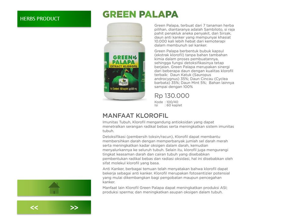 HERBS PRODUCT << >>