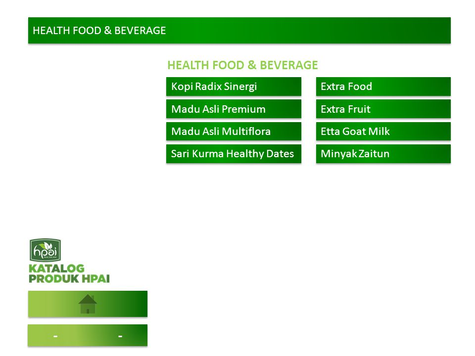 HEALTH FOOD & BEVERAGE - - HEALTH FOOD & BEVERAGE Kopi Radix Sinergi