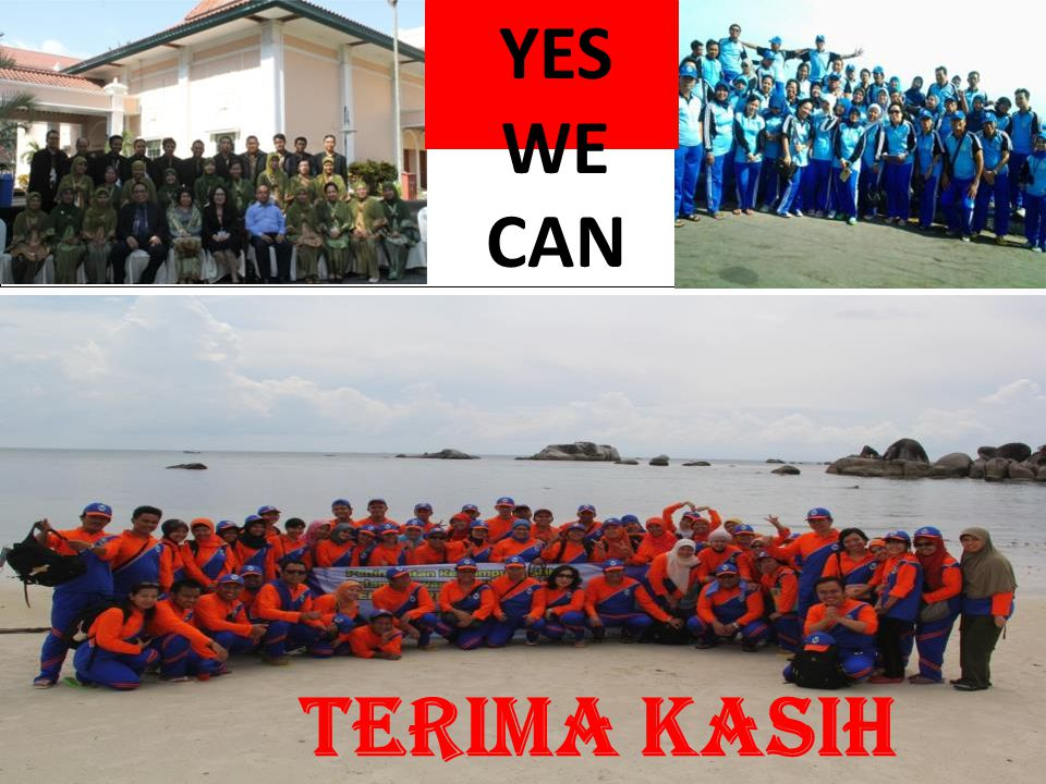 YES WE CAN TERIMA KASIH