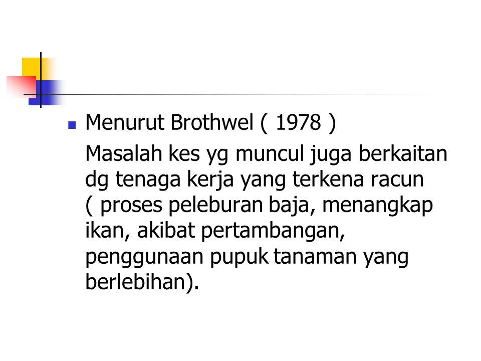 Menurut Brothwel ( 1978 )