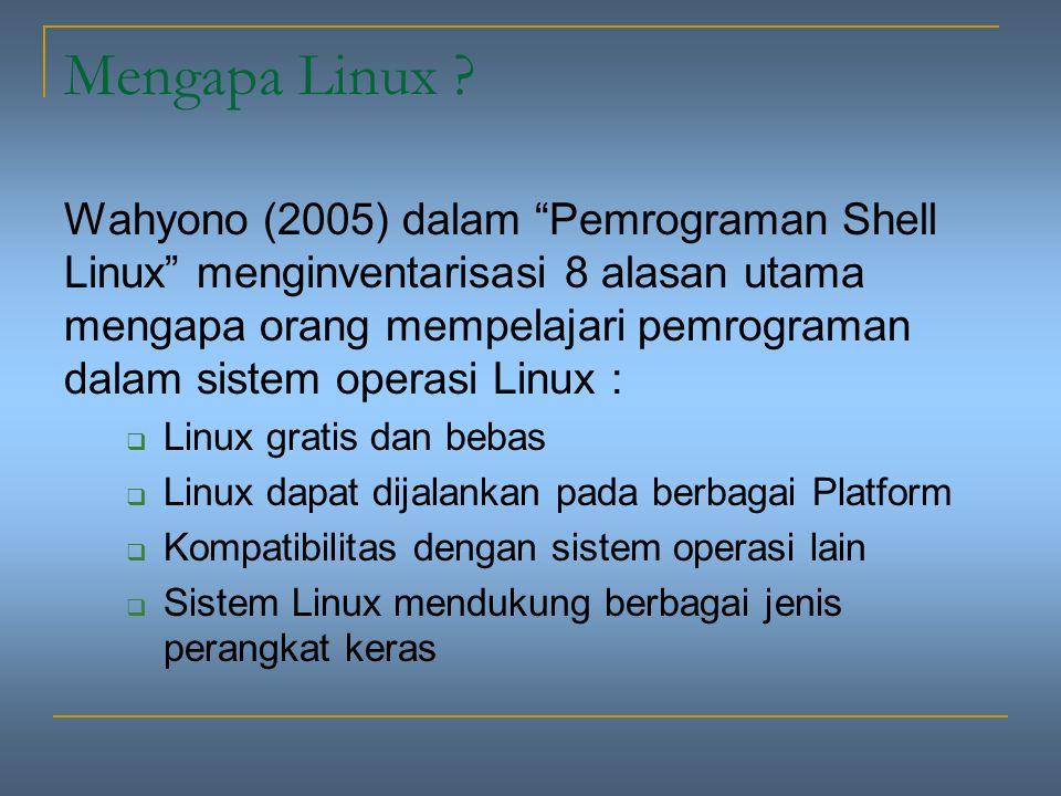 Mengapa Linux