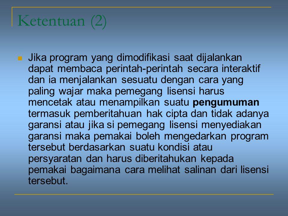 Ketentuan (2)
