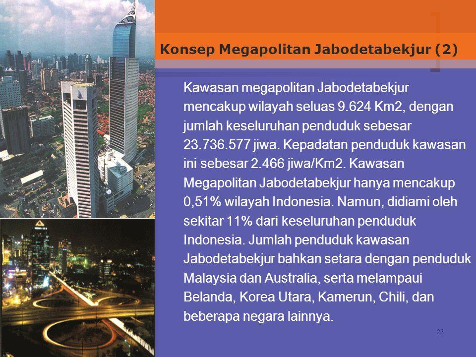 Konsep Megapolitan Jabodetabekjur (2)