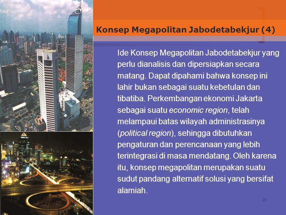 Konsep Megapolitan Jabodetabekjur (4)