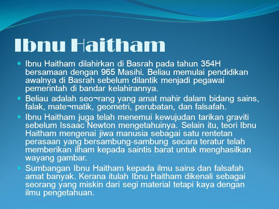 Ibnu Haitham