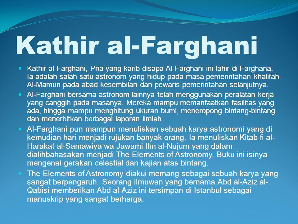 Kathir al-Farghani