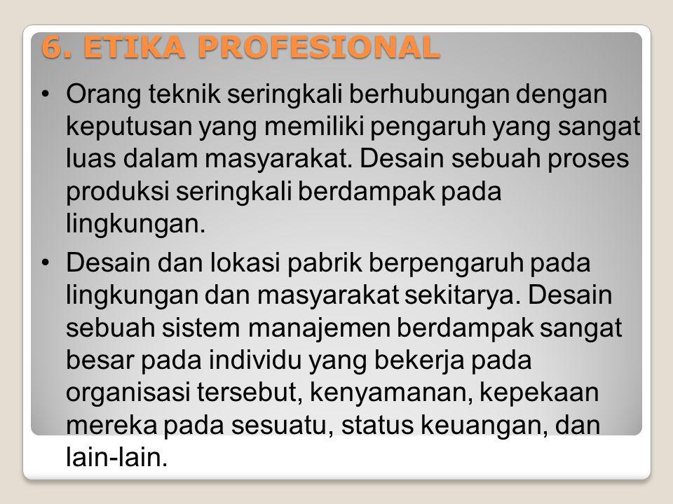 6. ETIKA PROFESIONAL