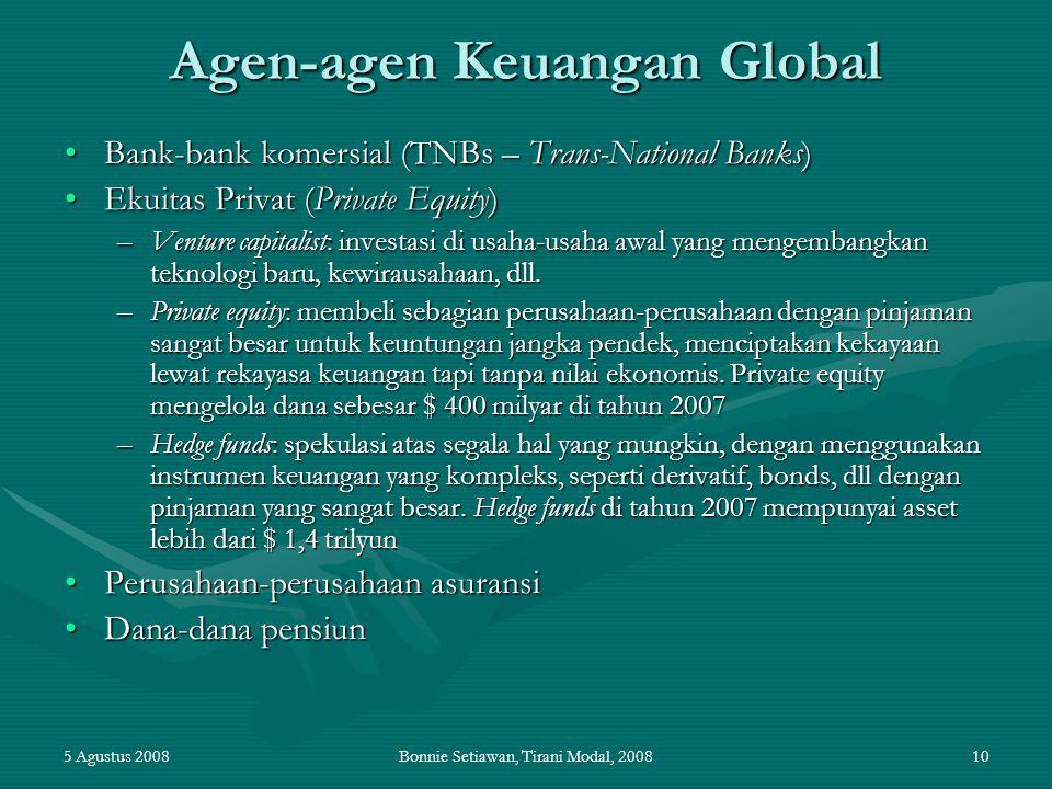 Agen-agen Keuangan Global