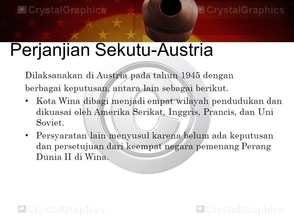 Perjanjian Sekutu-Austria