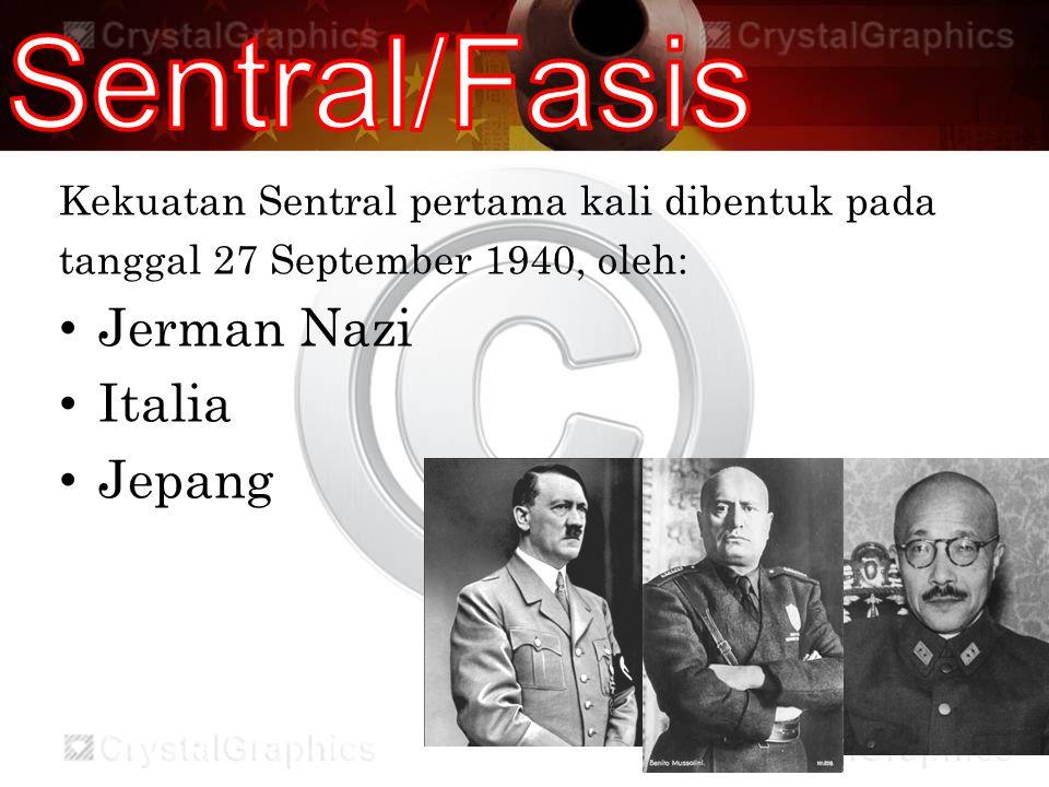Sentral/Fasis Jerman Nazi Italia Jepang