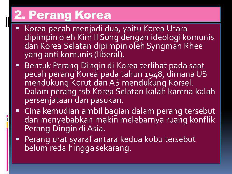 2. Perang Korea