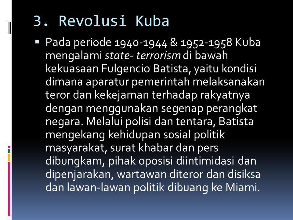 3. Revolusi Kuba