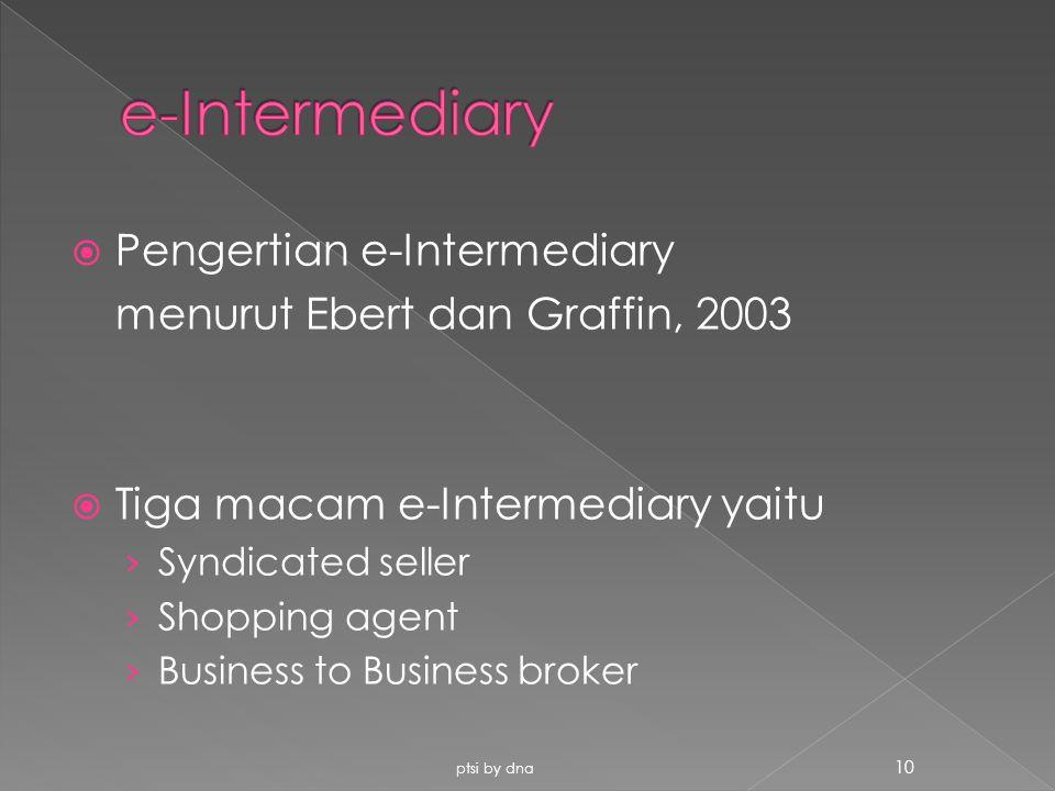 e-Intermediary Pengertian e-Intermediary