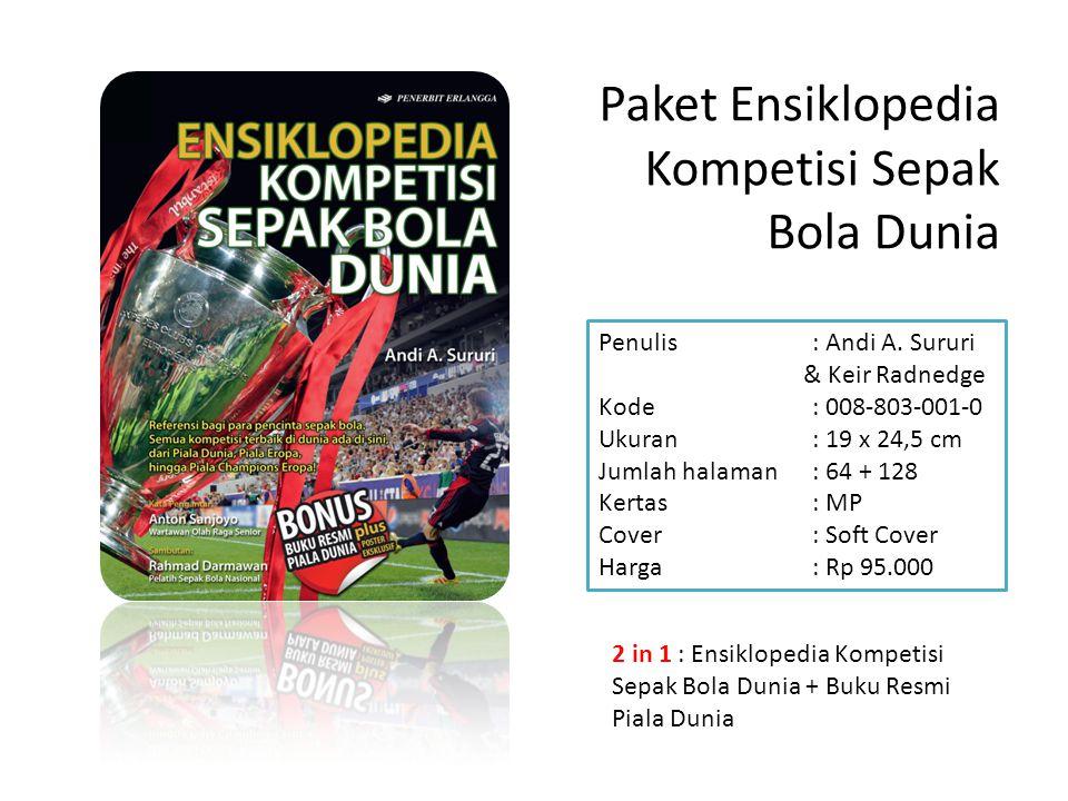 Paket Ensiklopedia Kompetisi Sepak Bola Dunia