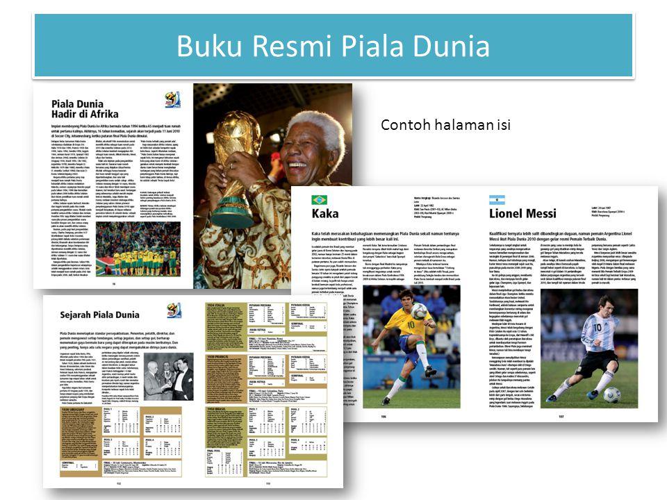 Buku Resmi Piala Dunia Contoh halaman isi